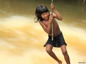 Los colonos ilegales han llegado hasta una distancia de 30 minutos andando de la comunidad de Pequeña Mariposa. © Survival Internacional