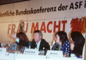 Bild: Foto: ASF Bundeskonferenz, Frauen Macht