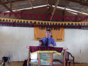 Preaching behind the Pulpit