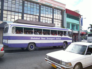 Local bus with no windows