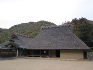 日本最古の現存する古民家 箱木家住宅