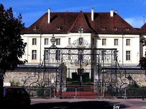 Château des évêques de Dijon