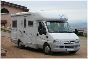 Camping car Françoise & Gérard