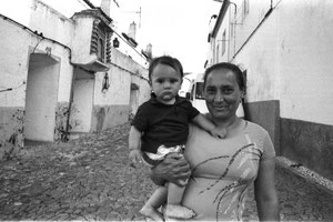 Gipsy mother and son - Estremoz, Portugal 2013