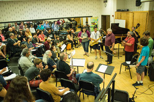Students and Faculty perform in Master-Class
