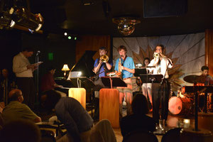 """Horace Silver Combo"" performing at Cliff Bells"