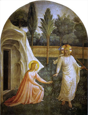 Florenz, San Marco, Fra Angelico: Noli me tangere