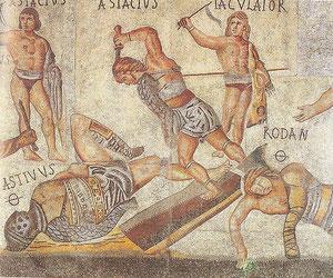 Borghese-Museum, Gladiatoren