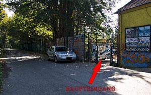 Haupt- /Nebeneingang Bad