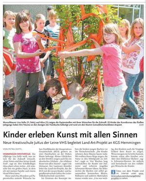 Leine-Nachrichten v. 26.05.09