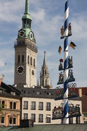 Der Schaffänger, München Altstadt, Spurensucher