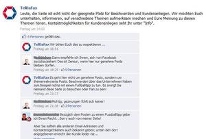 TelDaFax Facebook