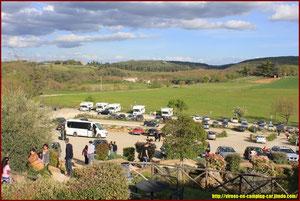 Parking Monteriggioni