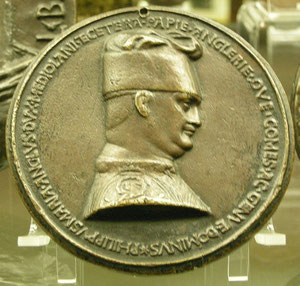 Filippo Maria Visconti in una medaglia di Pisanello