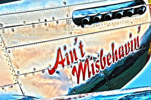 """Ain't Misbehavin' "" North American Mustang P-51 D"