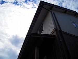 南面窓の庇