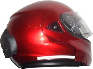 Überhaupt keine spührbaren Verwirbelungen am Helm
