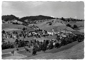 Luthern Dorf, Postkarte Friebel Sursee, Poststempel Luthern Dorf 5. 4.1967  (LD 26)