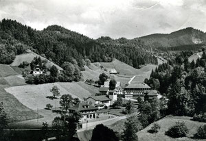 Luthern Bad, Wallfahrtsort, Postkarte mit Stempel Luthern Bad 13.12.1974  (LB 25)