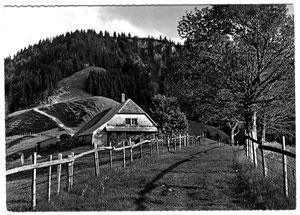 Luthern Bad, Alp Trachselegg 1157 m ü.M.Photo Ludwig Banz um 1958  (LB 23)