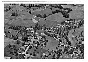 Luthern Dorf, Flugaufnahme P. Zaugg Solothurn, Ansichtskarte nicht abgeschickt  (LD  20)