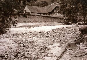 Luthern, Unwetterschäden 24. Juli 1972, Hof  Im Grund  (UW 5)
