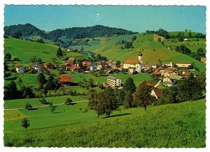 Luthern Dorf, Postkarte, Feldpost, 15.9.1971  (LD 27)