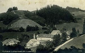 Luthern Bad, Postkarte Kurhaus Luthernbad, 295, Verlag Globetrotter AG Luzern, ohne Stempel  (LB 14)