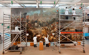 Restauration des Bildes (Quelle: Generalitat de Catalunya / gencat.cat)