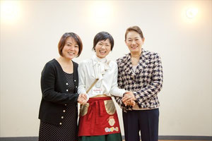 杉田かおるさん,内田美智子先生,下倉樹,トークショー写真