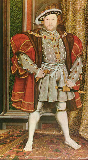 Henry VIII after Hans Holbein the Younger.
