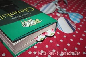 Lesezeichen, Stoffreste, Marlen Preßler, MenZe 2010, Selbermachen
