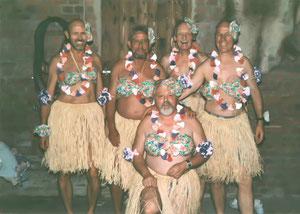 """Wir sangen für Gerd M. """"Good bye dear Samoa"""""""