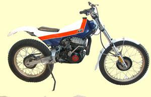 JJCobas Trial com motor Montesa - foto  todotrial.com