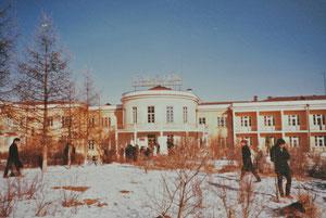 テレルジの保養所(1985年1月、ウランバートルから東へ60~70㌔)
