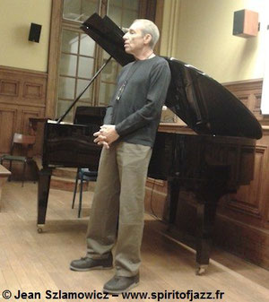 Ben Sidran @ La Sorbonne, Paris (2013)