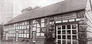 heutiges DGH mit Feuerwehr Gerätehaus