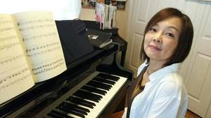東広島市のピアノ教室・クラングファルベ音楽教室・林田まりい先生