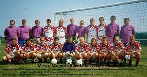 Mannschaft aus Saison 1991/92