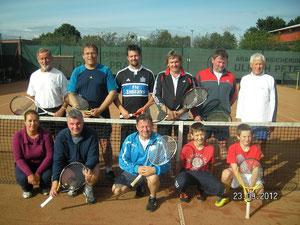 Teilnehmer Mixed-Cup 2012