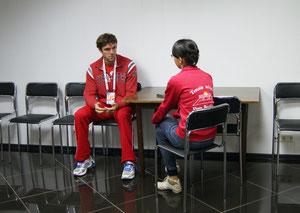 Интервью с Теймуразом Габашвили во время турнира SPB Open 2012
