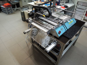 SMALLSMT, pick & place machine, SMT Bestückungsmaschine, DIY pick and place, SMT pick & place machine, desktop pnp machine