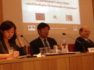 L'ambassadeur Zhai Jun au Sénat