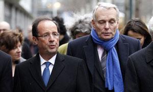 François Hollande et Jean-Marc Ayrault: comment tourner le plus vite possible la page de la campagne?
