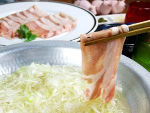 豚肉料理,豚しゃぶ鍋
