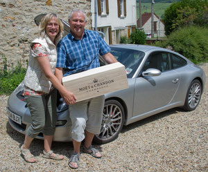 Methuselem, Porsche and happy owners of both