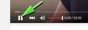 Mettre en pause la vidéo Jimdo