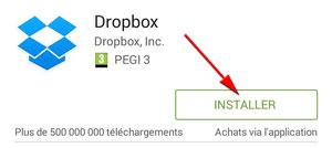 Sppli Dropbox sur Play Store