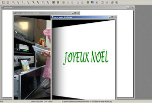 Carte postale avec Photofiltre