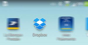 Icone Dropbox sur smartphone